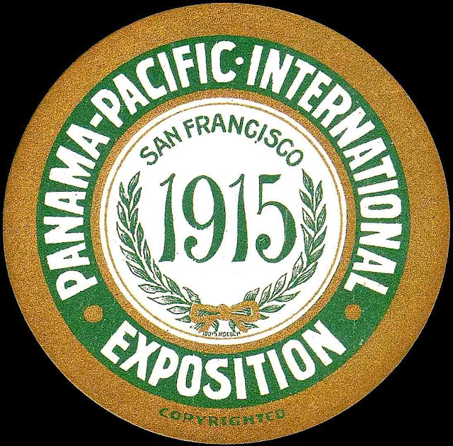 1915 pan pacific expo coaster
