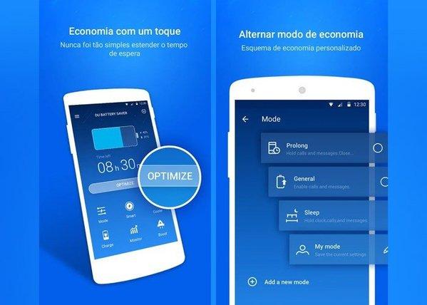 App para economizar bateria  do celular – Du Bateria Saver