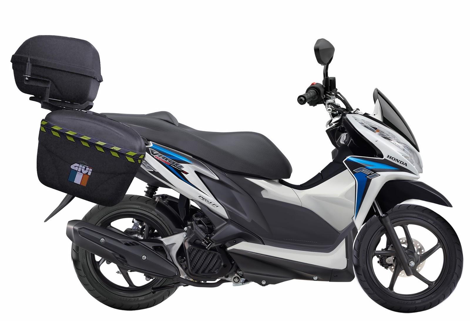 Yang Suka Modifikasi Motor Variasi Motor Honda Vario Techno