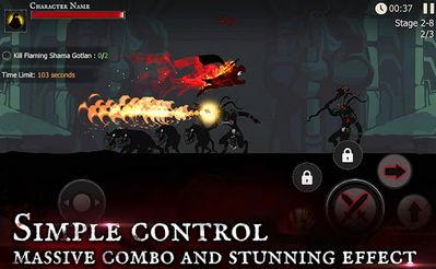 Shadow of Death: Dark Knight MOD APK 1.24.0.0 - Stickman Fighting 1