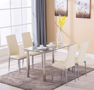 Mecor 5 Piece Dining Set