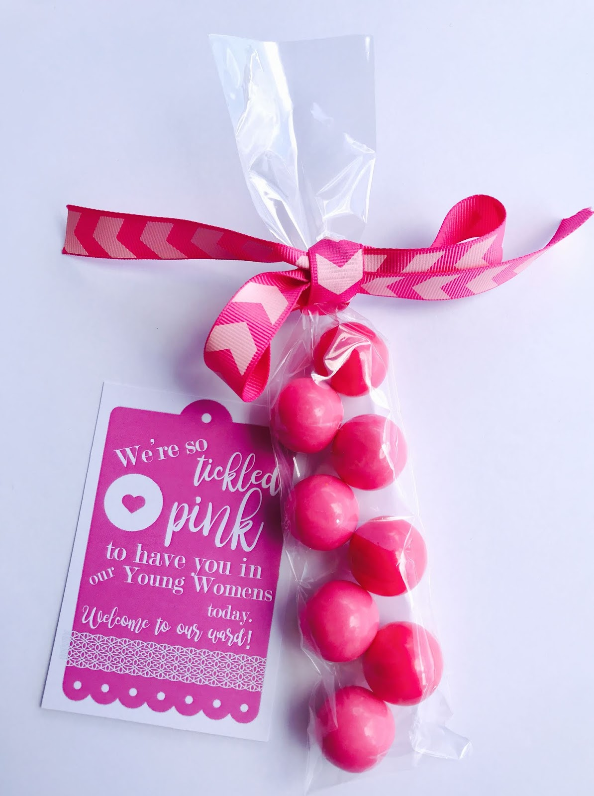 Marci Coombs Welcome Tags Tickled Pink Sunshine
