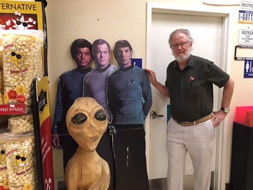 Meeting up with old friends at the Alien Jerky Store in Baker, CA