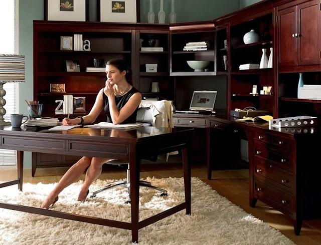 best create your own home office furniture sets solid wood design