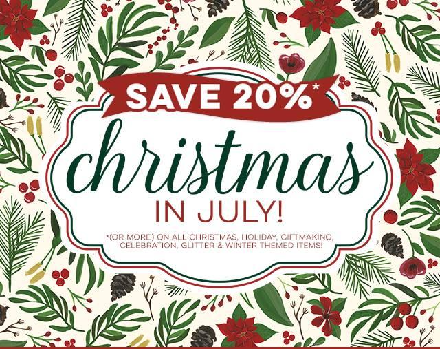 Merry Christmas In July Clipart.Jen S Ink Spot Christmas In July Sale