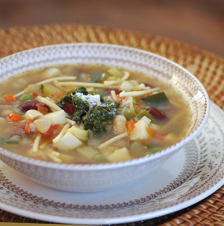 Savoring Time in the Kitchen: Provençal Vegetable Soup ...
