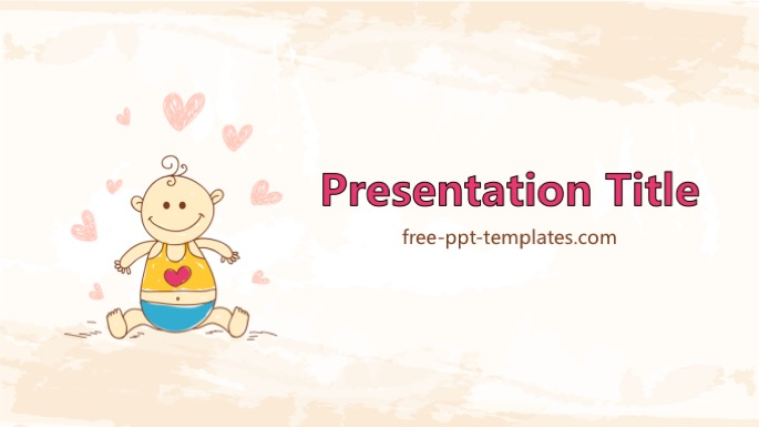 Baby Shower Ppt Template