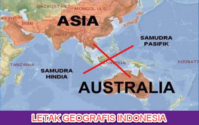 Indonesia diapit dua samudra dan juga dua benua Pikiran Utama Teks Pengaruh Letak Geografis terhadap Kehidupan Sosial Budaya