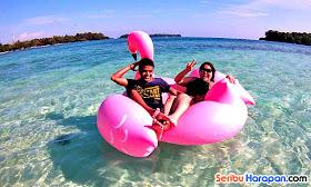 hopping island wisata pulau harapan