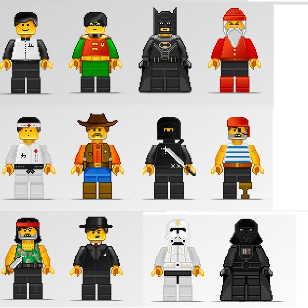 Lego character illustrations free vector vectorkh download1 gumiabroncs Choice Image