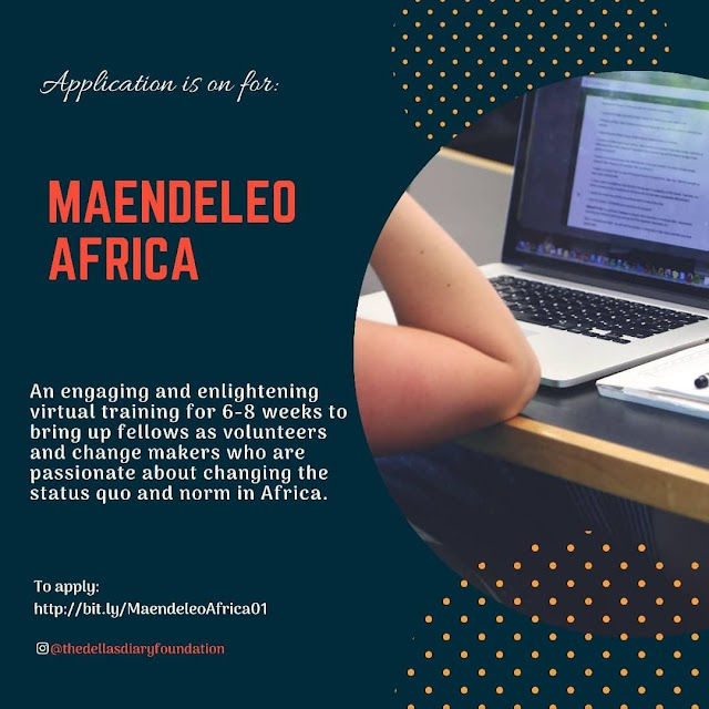 Dellasdiary Launches Maendeleo Africa, Aims to Impact African Youths