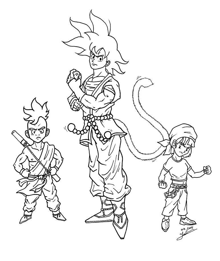 Dragon ball super encrage fanart et s rie anim e juju gribouille - Dessin de dragon ball super ...