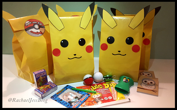 How to make bright pikachu pokemon party bags a diy and lifestyle october the month i stress myself out trying to make my sons party bags and this year is no different this year were all about the pokemon in our house solutioingenieria Choice Image