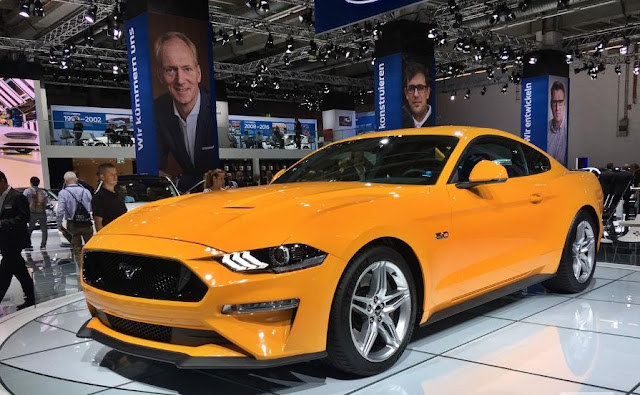 Ford Mustang will arrive in Europe with more power in the V8