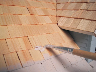 Roofing A Dollhouse Nature S Soul Miniatures