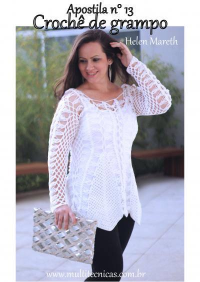 Katia Ribeiro Crochê Moda e Decoração - Crochê com Gráficos e6f9ed1e852