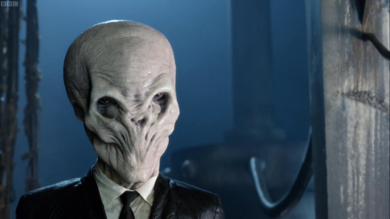 The Silence from BBC's 'Doctor Who' is Scarier Than a