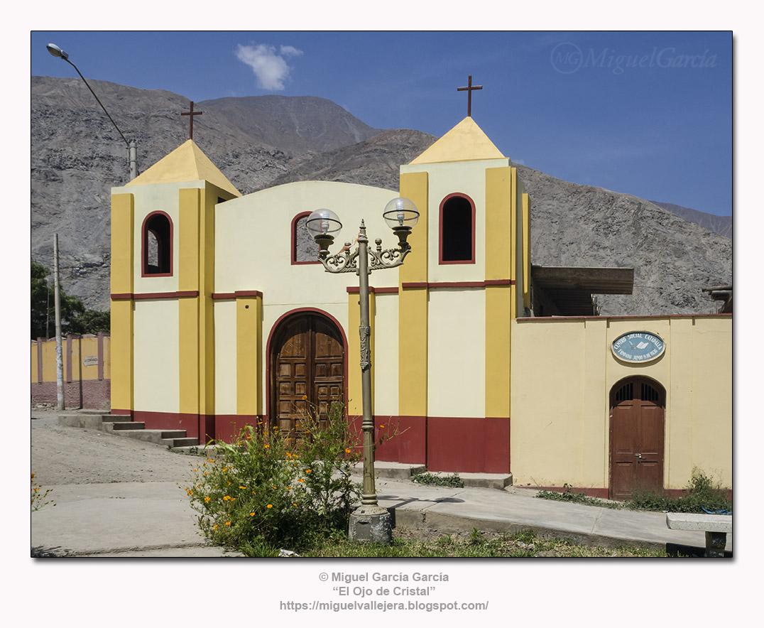 Catapalla (Lunahuaná), Capilla.