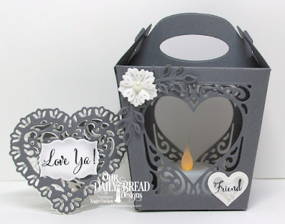 ODBD Custom Glorious Gable Box Dies, ODBD Custom Heavenly Hearts Dies, ODBD Custom Layering Hearts Dies, ODBD Custom Tulip Heart Die, ODBD Custom Mini Labels Dies, ODBD To My Favorite, ODBD Let Love Grow, ODBD Custom Bitty Blossoms Dies, ODBD Custom Fancy Foliage Dies, Projects Designed by Angie Crockett