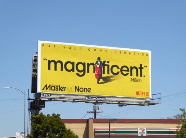 Master of None Magnificent Emmy FYC billboard