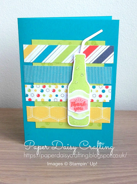 Bubbles and Fizz  Stampin Up