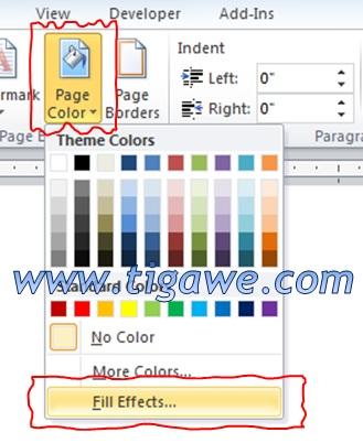 Cara Mengganti Background Word : mengganti, background, Menambahkan, Gradiasi, Warna, Background, Halaman