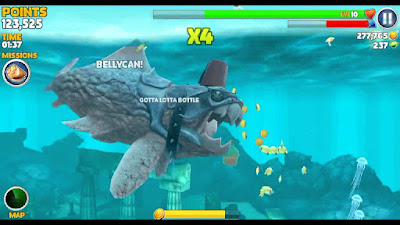 cheat hungry shark bahasa indonesia