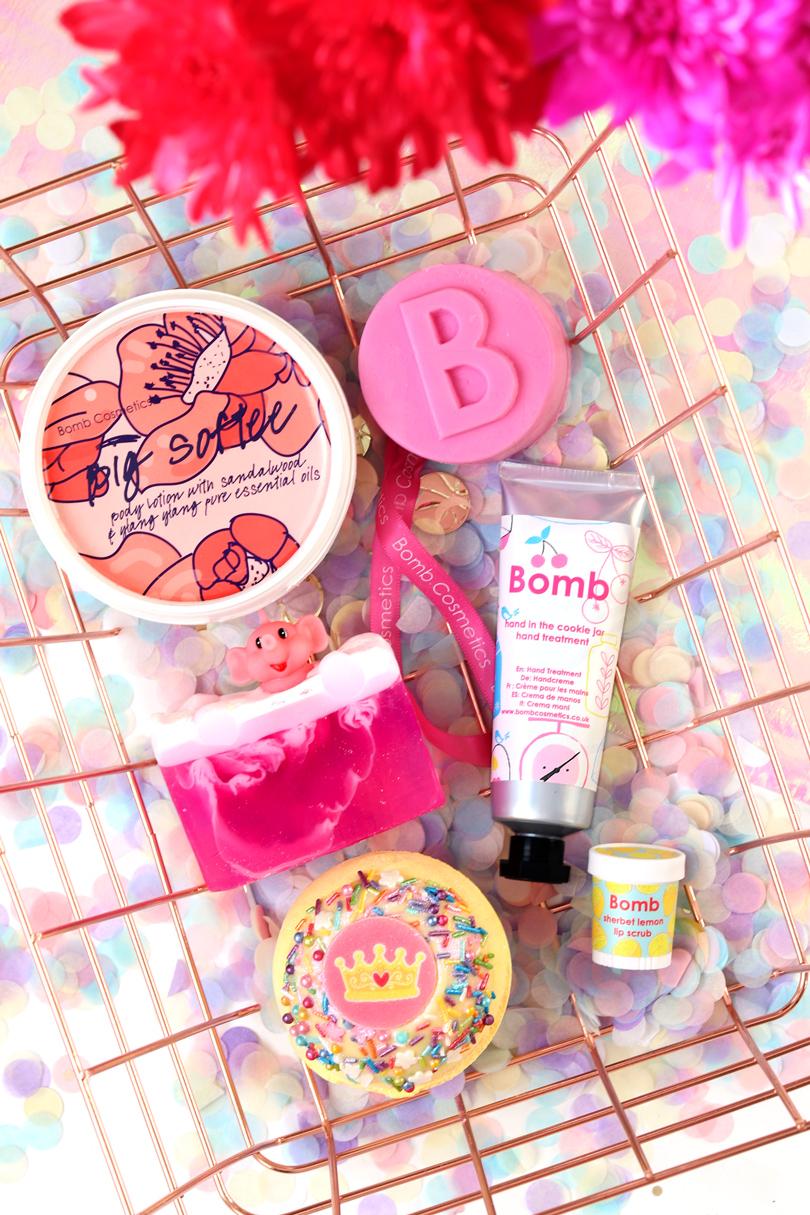 bomb cosmetics haul review