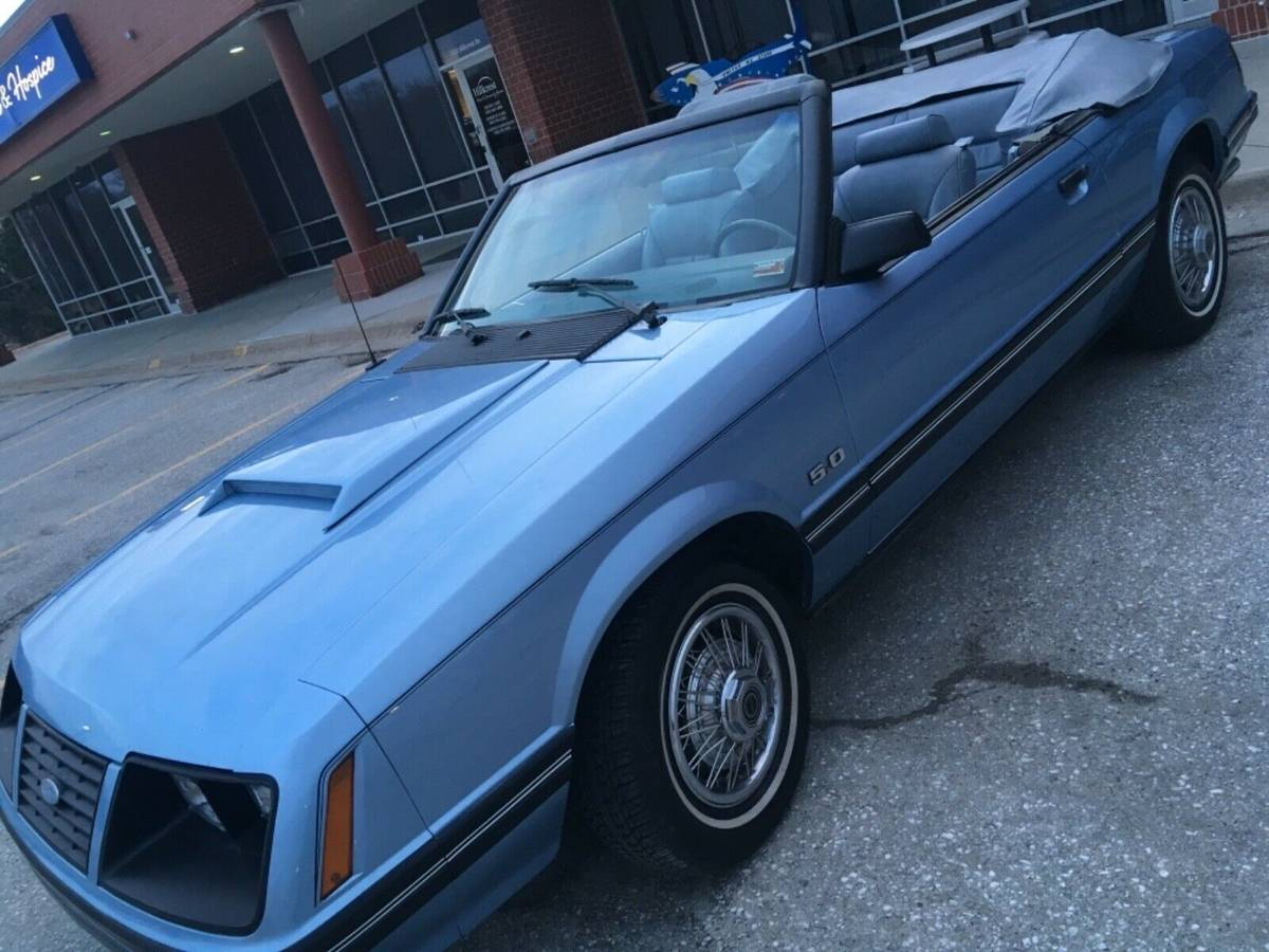 Daily Turismo: Minty Convertible: 1983 Ford Mustang LX