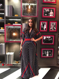 Bollywood Actress Neha Dhupia Stills at Koffee with Karan  0001.jpg