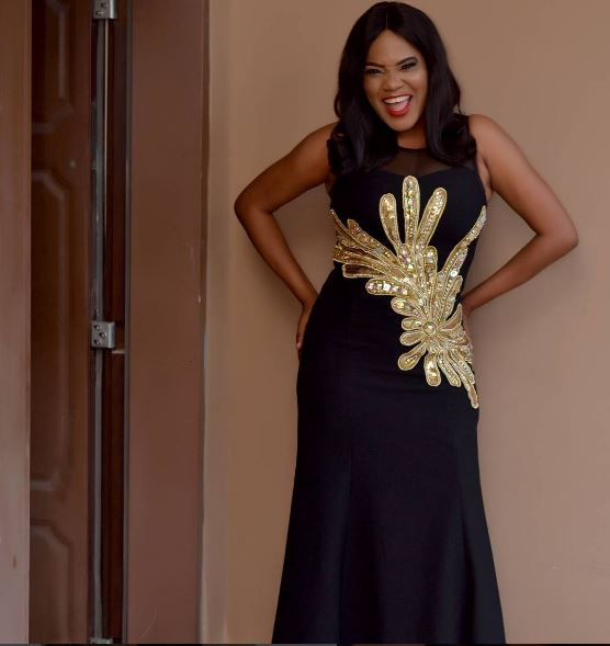 Toyin Aimakhu Is Exceptional As She Rocks Black Outfit To 'zahra' Movie Premiere1