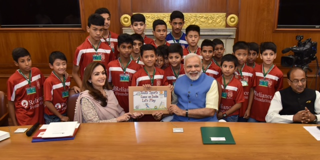 Reliance Foundation kicks-off National Youth Sports competition