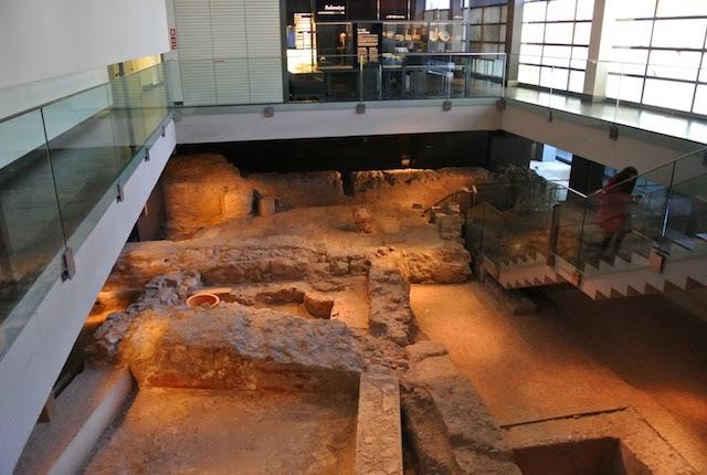 Sitio arqueológico L'Almoina em Valencia