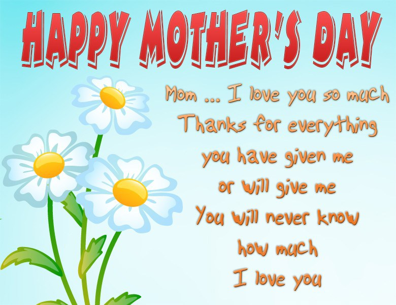 Happy Mothers Day 2019 Quotes from Daughter | Happy Mothers ...