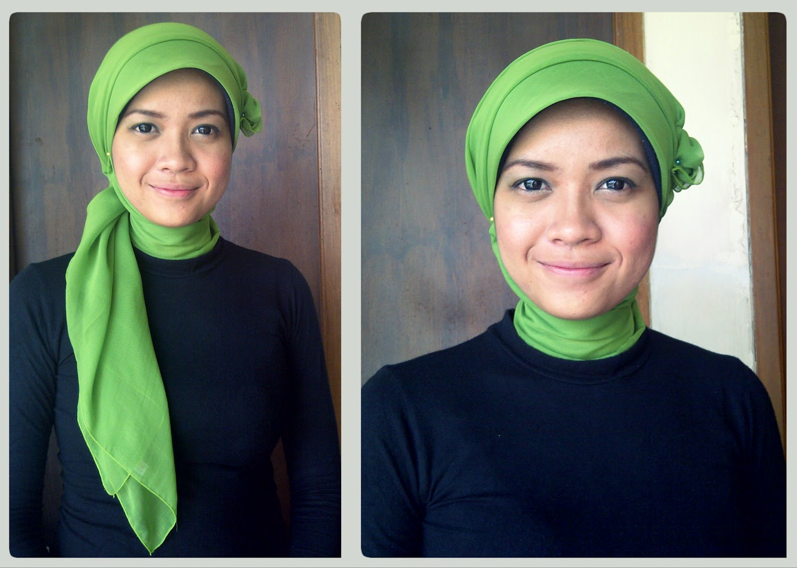 tutorial hijab model topi terlengkap - blog contoh