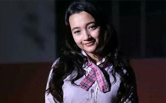 Megan Domani pemeran Indah