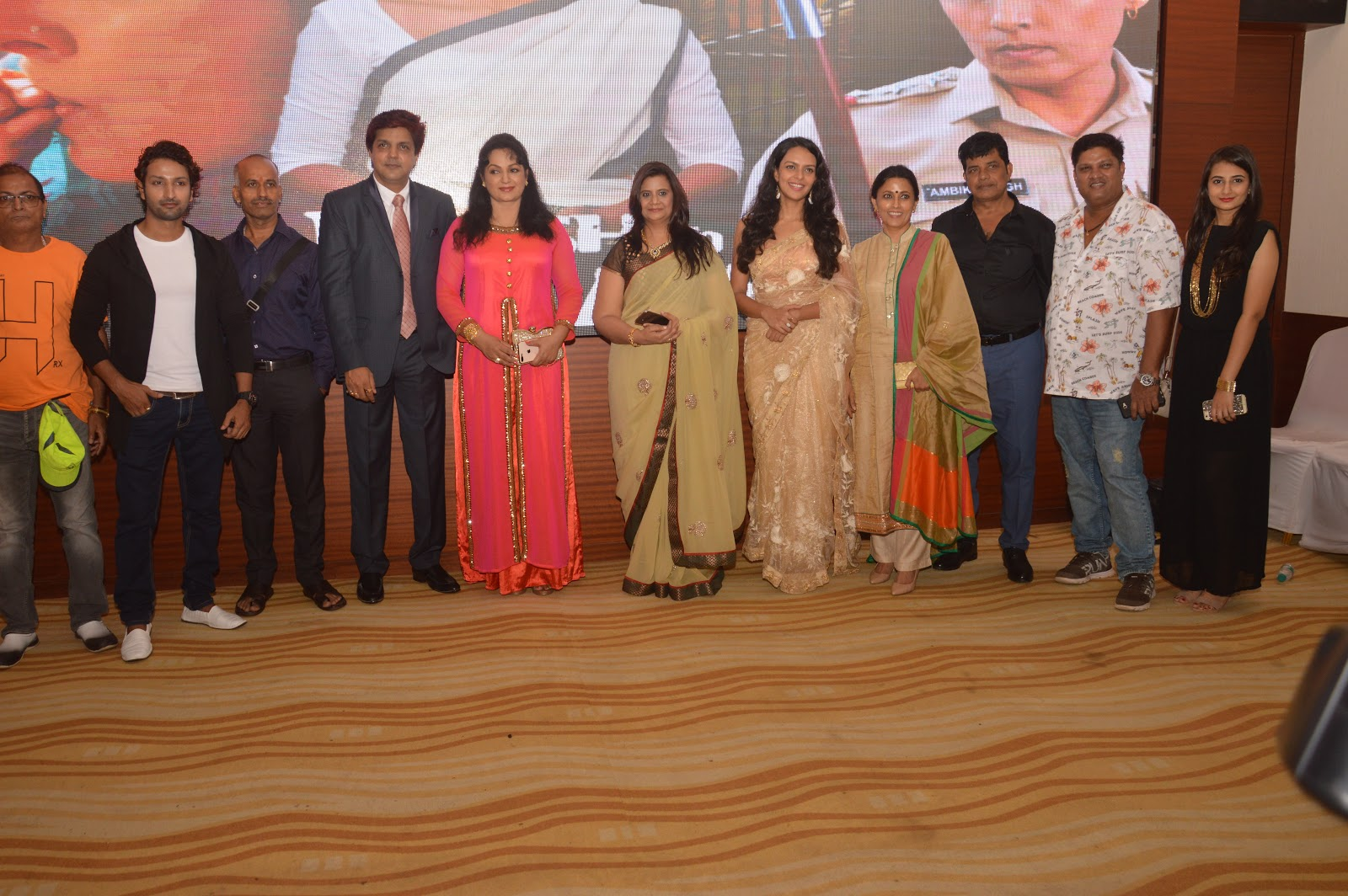 Bidita Bag Meghna Malik Launched Their Upcoming Movie Moksh To Maya S Teaser
