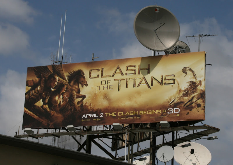 Clash of the Titans billboard