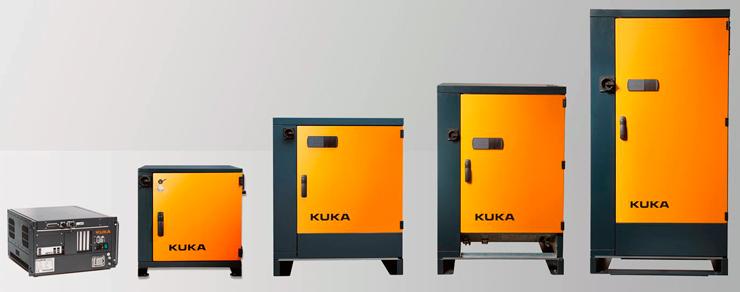 Система управления KUKA KR C4 доступна в пяти разных вариантах.