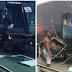 Ônibus da banda Os Clones do Brasil se envolve em acidente