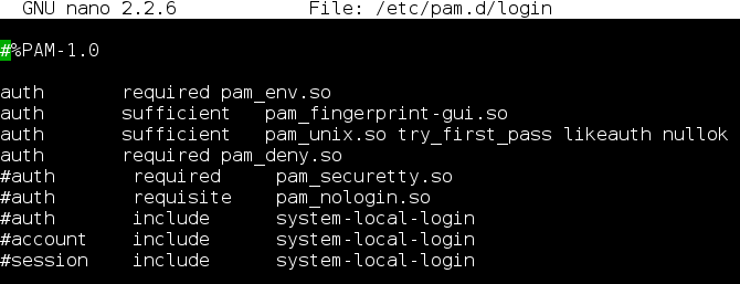 Using fingerprint for login/su/sudo with Fprint on Archlinux