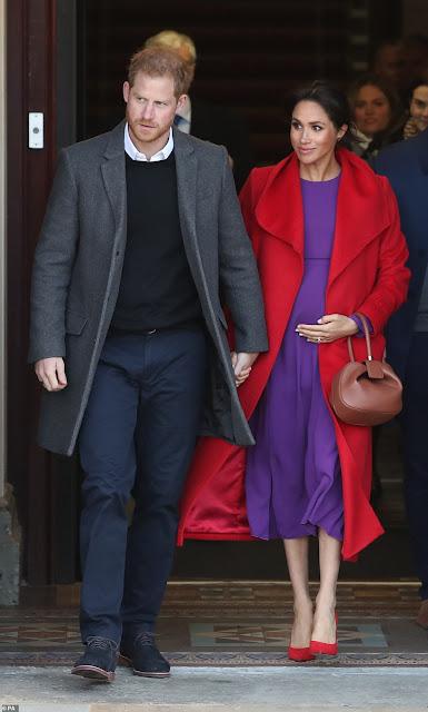 Meghan i Harry z wizytą w Birkenhead