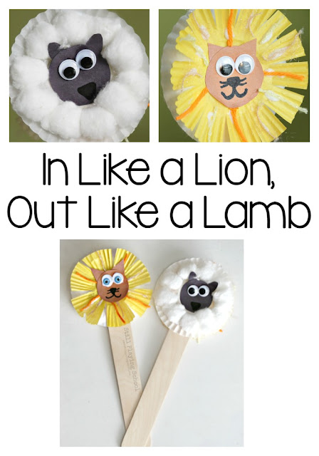 Lion and Lamb Puppets