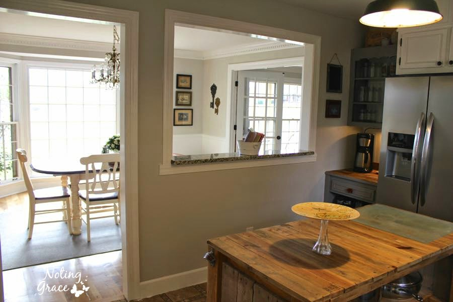 DIY Farmhouse Kitchen Remodel: Noting Grace