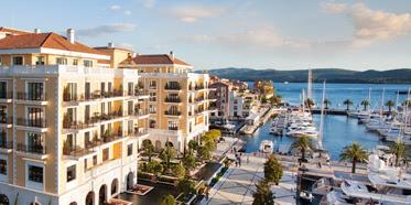 Hotel Regent, Porto Montenegro, nautical settlement