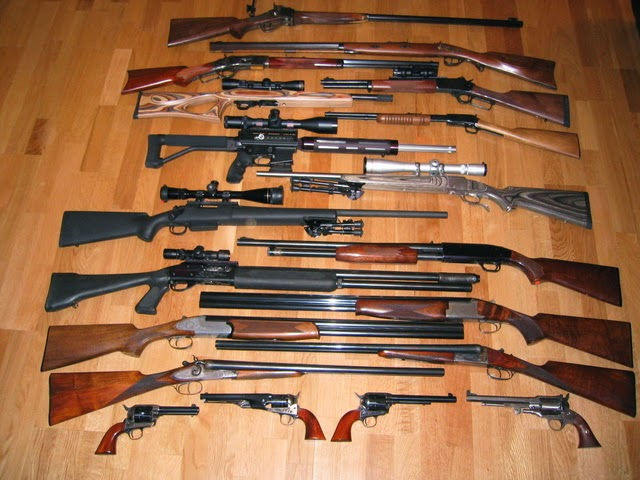 Nice Gun Collection