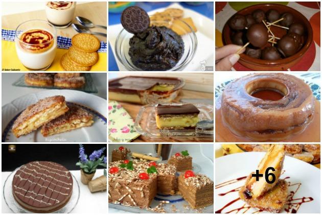 ideas fáciles de postres con galletas sin horno