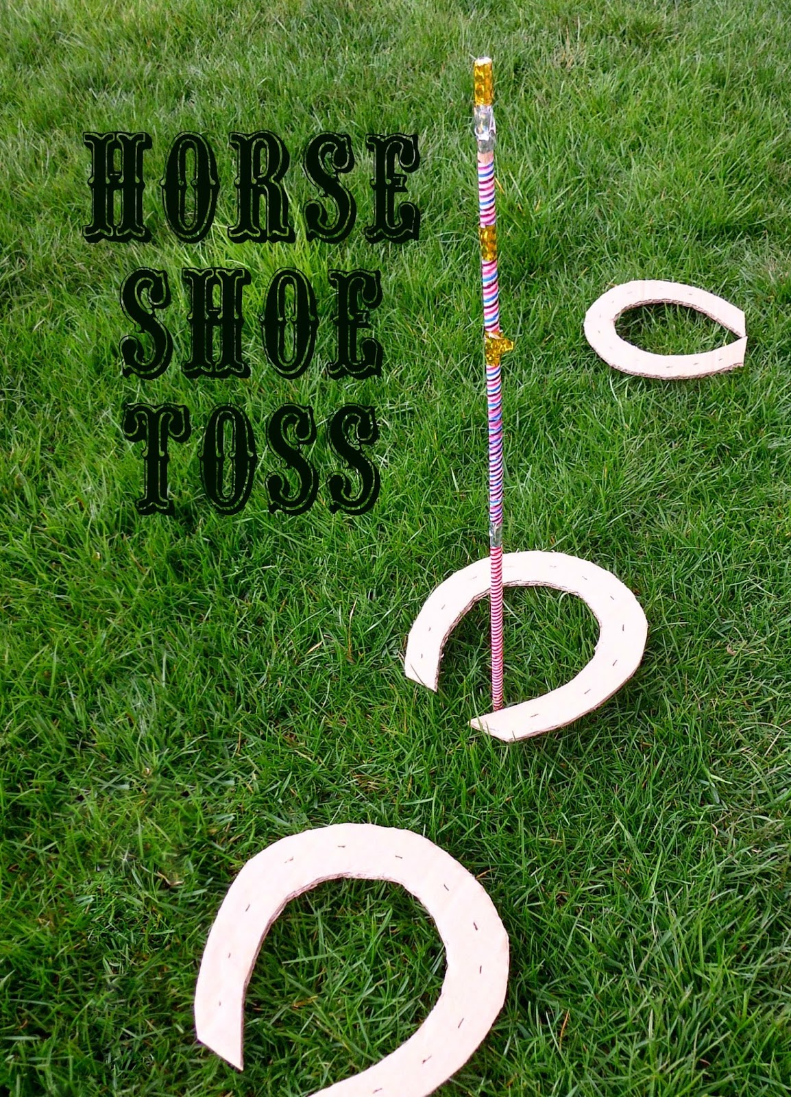 Mothers Messy Madness Wild West Horse Shoe Toss