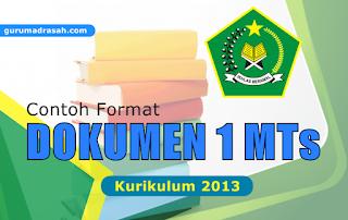 dokumen 1 mts kurikulum 2013