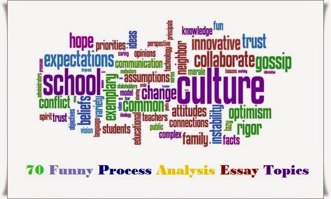 70 Funny Process Analysis Essay Topics Words of Wisdom - Wikitanica